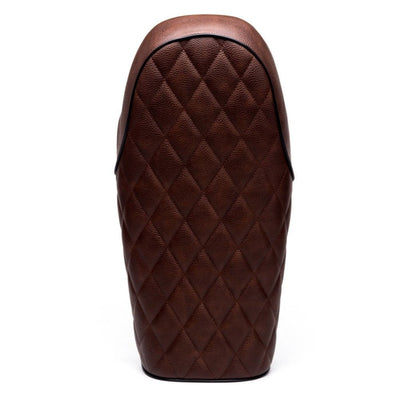 DIAMOND STITCH BRAT SEAT brown