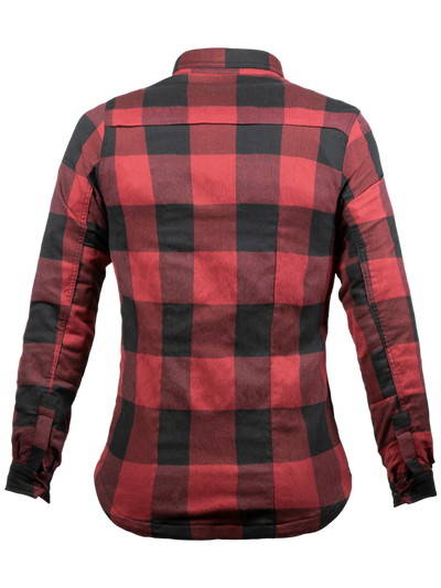 JOHN DOE MOTOSHIRT WOMEN | RED BLACK
