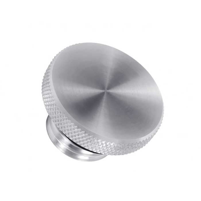 Motone spun satin Aluminium fuel cap for Triumph and Harley Davidson