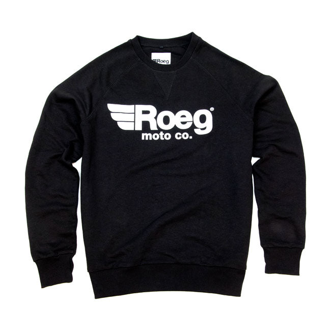ROEG |  MENS SHAWN SWEAT SHIRT | BLACK