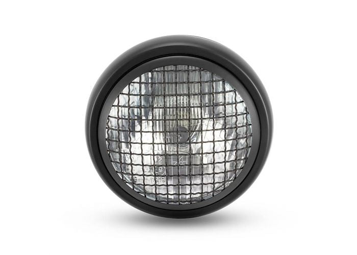 rogue motorcycles scrambler black mesh headlight perth cafe racer bobber chopper brat