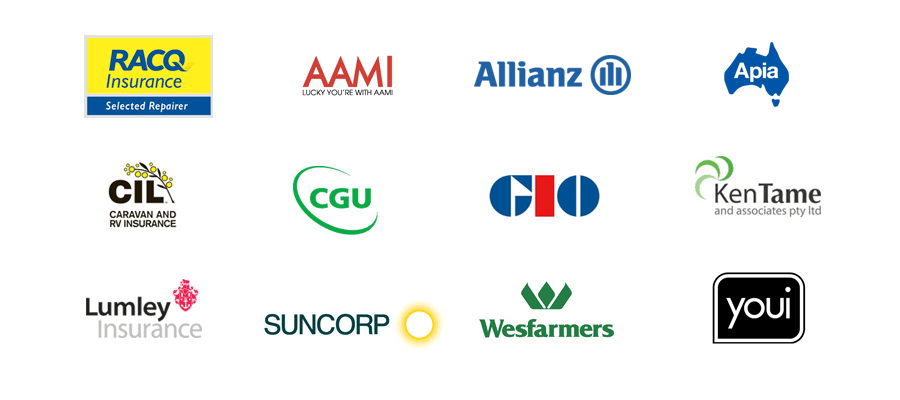 We've helped customers with insurance claims through AAMI, Allianz, CIL, APIA CIL, CGU, GIO, Ken Tame & Associates, Lumley Insurance, Suncorp, Westerfarmers and Youi.