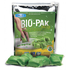 Bio-Pak Express Superior Cassette And Portable Drop In Toilet Waste Digester