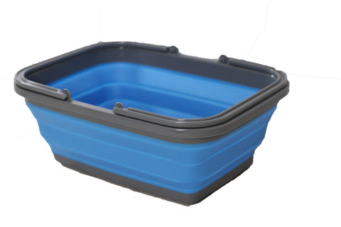 Collapsible Basket Blue