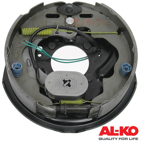 "ALKO 10"" Brake Assembly Plate Electric 250mm x 56mm Left With Park LH"