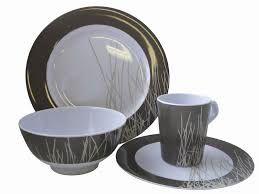 Coast 16 Pce Melamine Dinner Set Sahara