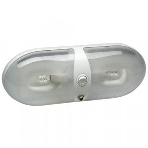 Jayco 12V LED Dual Oval Light (Blue/White Light) (86902)