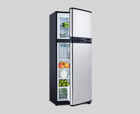 Bushman DC285L Black/Stainless Steel Compressor Fridge