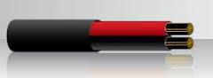 ACX 6mm Twin Core Red/Black per Meter