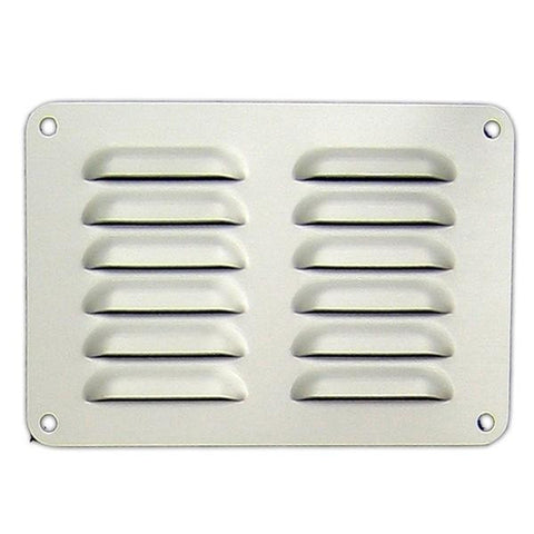 Ali Vent 225 x 150mm Anodised Silver