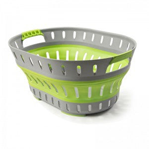 Compact Laundry Basket (Green)