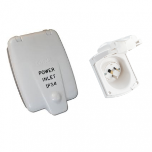 Clipsal Power Inlet 15Amp ƒ?? White 435Vf15Amp