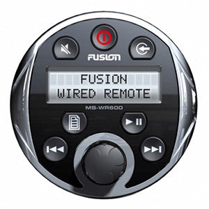 Fusion Marine Wired Remote Control Ms-Wr600