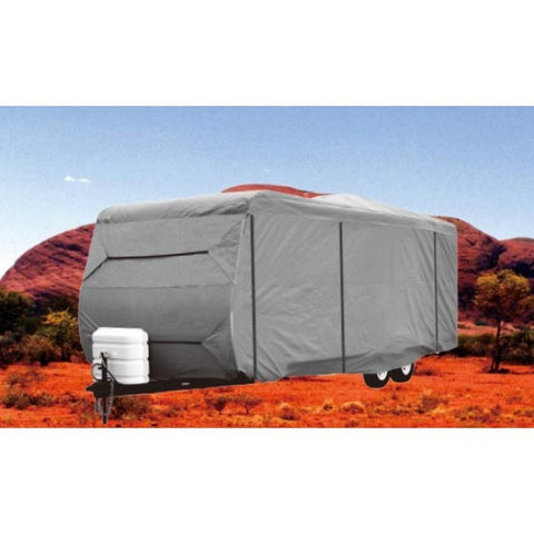 Heavy Duty 4 Layer Premier Platinum Caravan Cover 14ft-16ft (4.3m-4.8m)