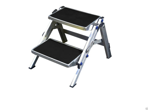 Double Folding Step Aluminium Frame