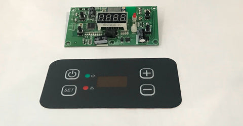 Main PCB board and display decal to suit TMX55