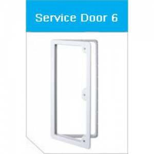 Thetford Access Door 6 (White)