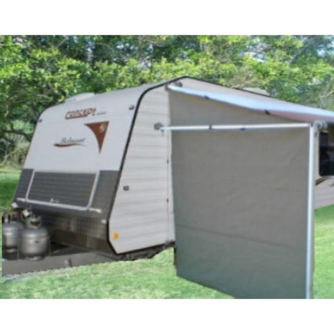 Australian RV Privacy Screen End Wall - Caravan