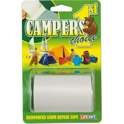Campers 1st Choice Super Clear Repair Tape 7.5 x 50cm