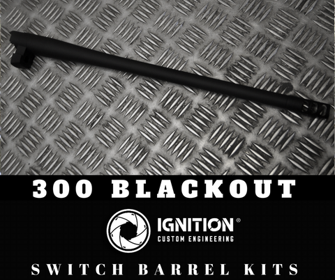 Switch Barrel Kit 300 Blackout (to suit Remington 7615)