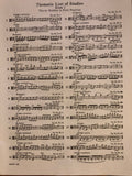 Wohlfahrt, Foundation Studies for the Viola, Book I