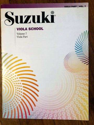 Suzuki Viola School - Volume 7 Viola Part