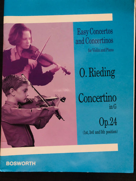 Rieding, Concertino in G Major Op. 24 for Violin and Orchestra