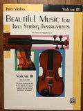 Applebaum, Beautiful Music for Two String Instruments - Two Violas, Volume 3