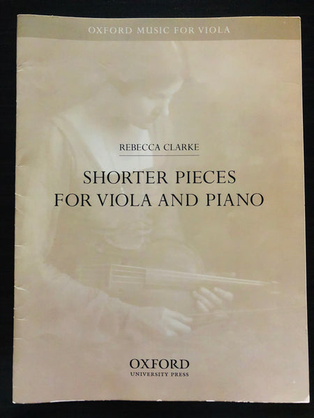 Clarke, Shorter Pieces for Viola and Piano - PIANO PART ONLY