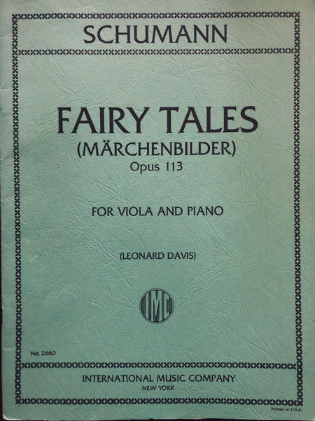 Schumann, Fairy Tales (Marchenbilder) Op. 113 for Viola and Piano