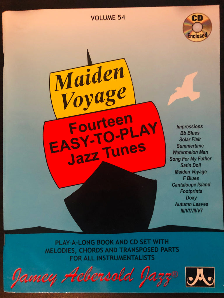 Aebersold, Maiden Voyage: Fourteen Easy-to-Play Jazz Tunes Vol. 54