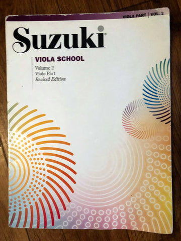 Suzuki Viola School - Volume 2 Viola Part