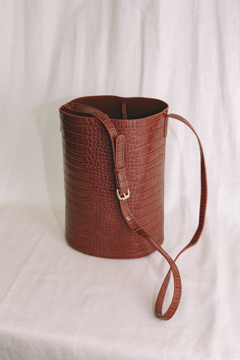 Diane Bucket Bag - Amber
