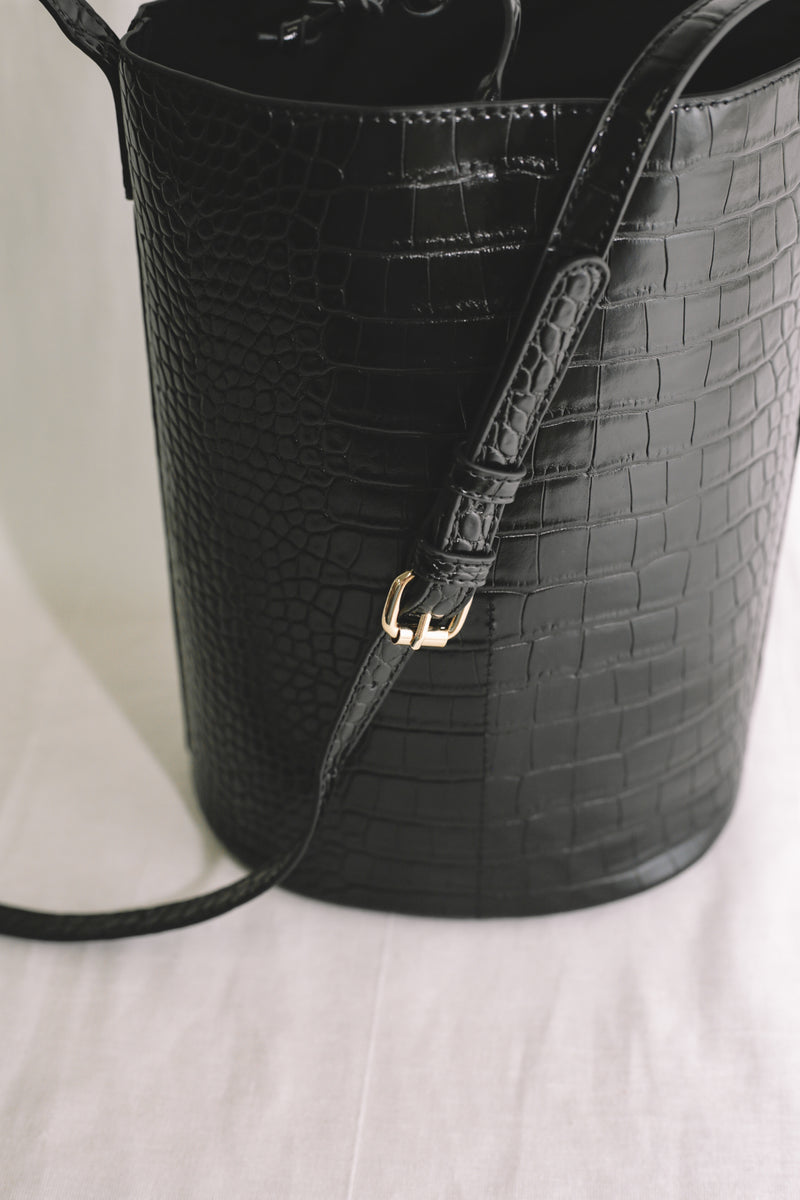 Diane Bucket Bag - Noir