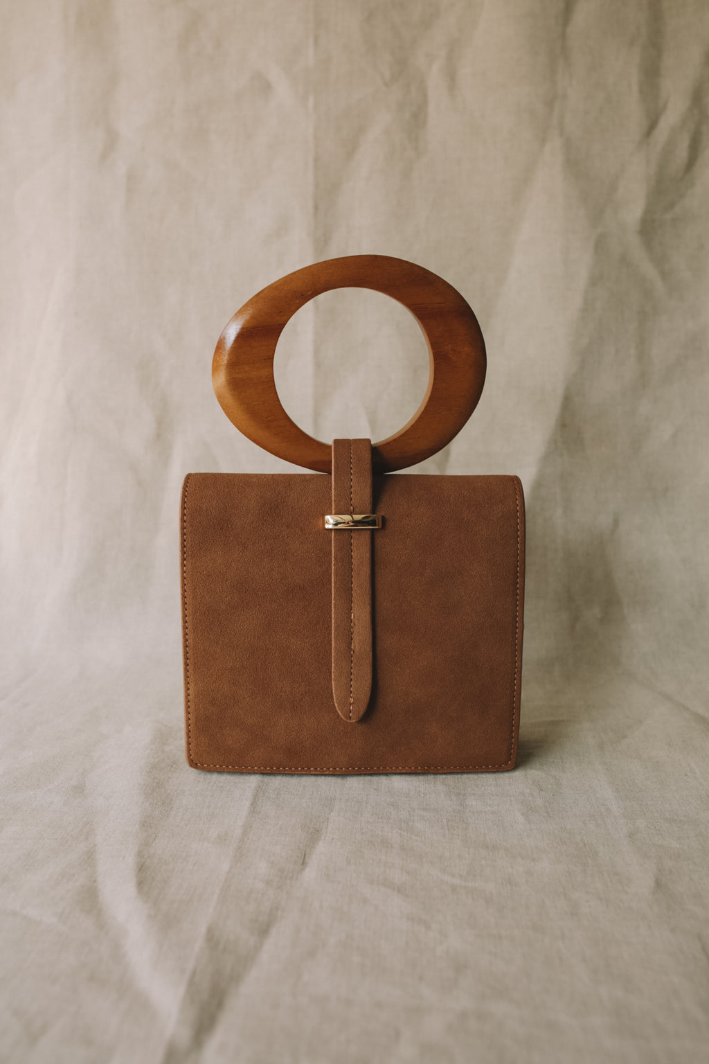Alia Suede Bag