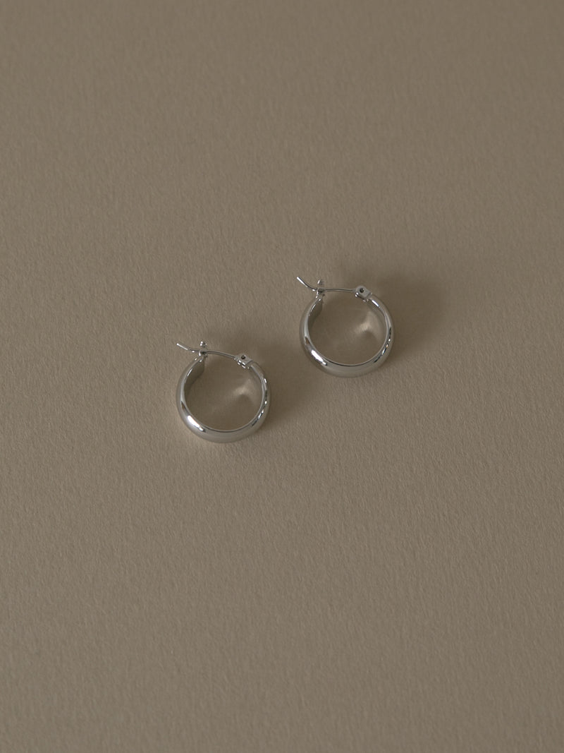 May Silver Earrings