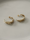 Uma Gold Hoop Earrings