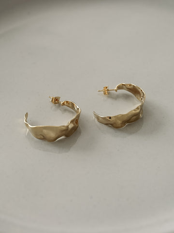 Ajna Gold Earrings