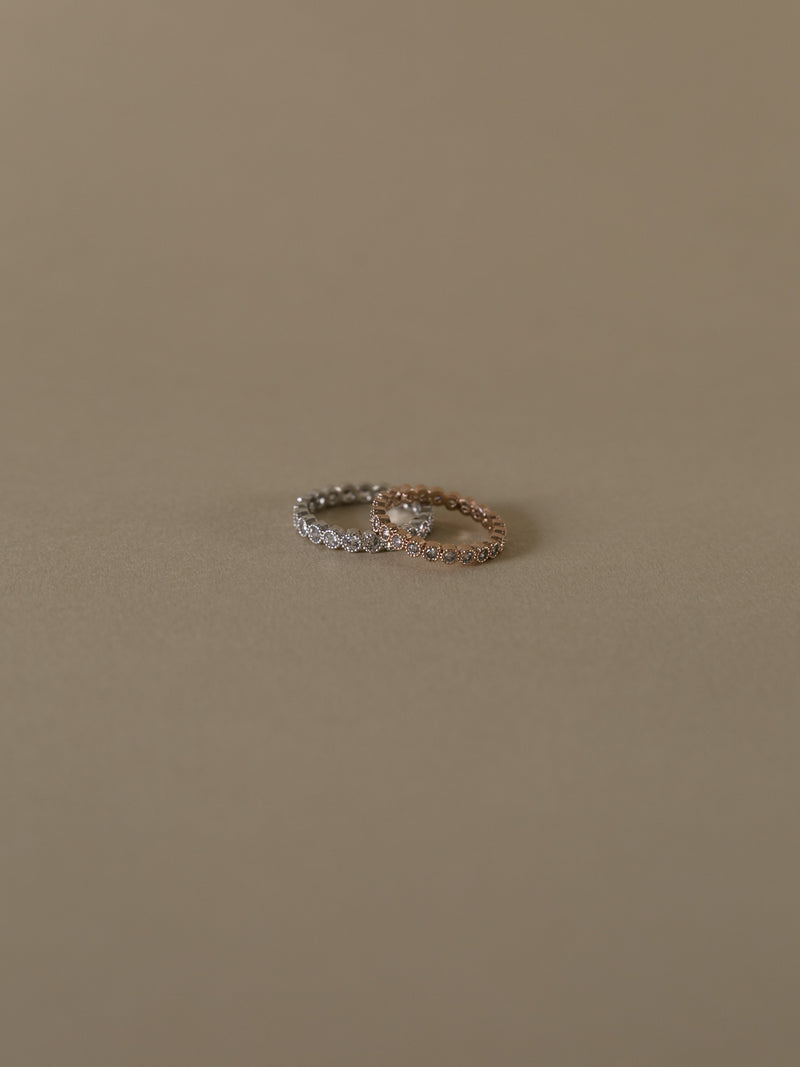 Diana Eternity Ring - Rose Gold