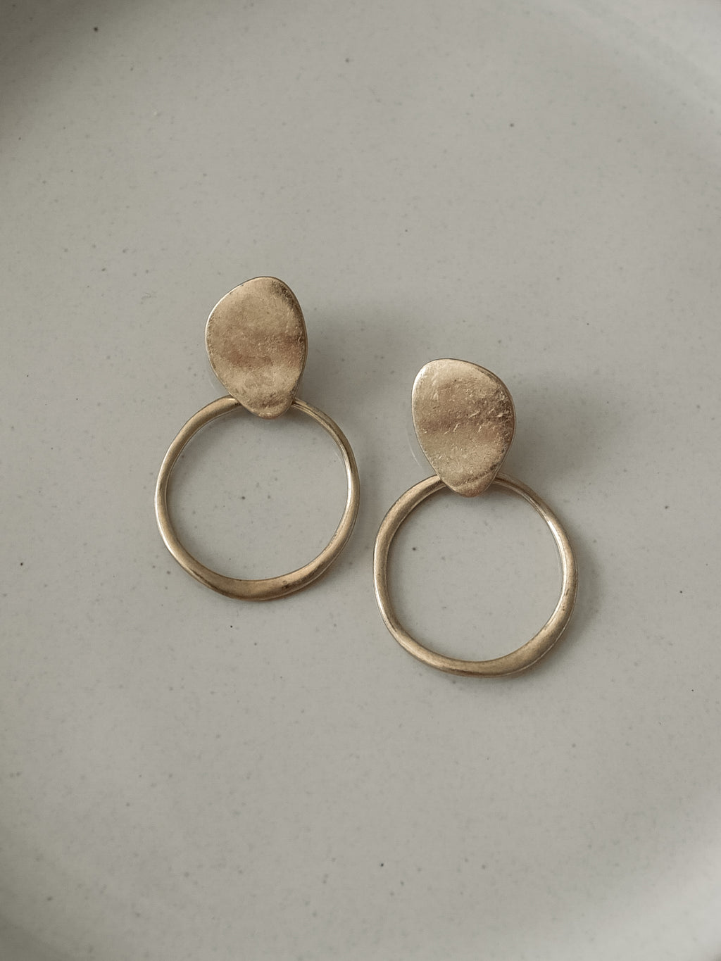 Oblong Earrings