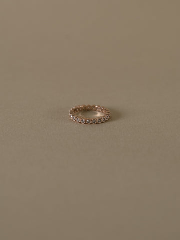 Diana Eternity Ring - Silver