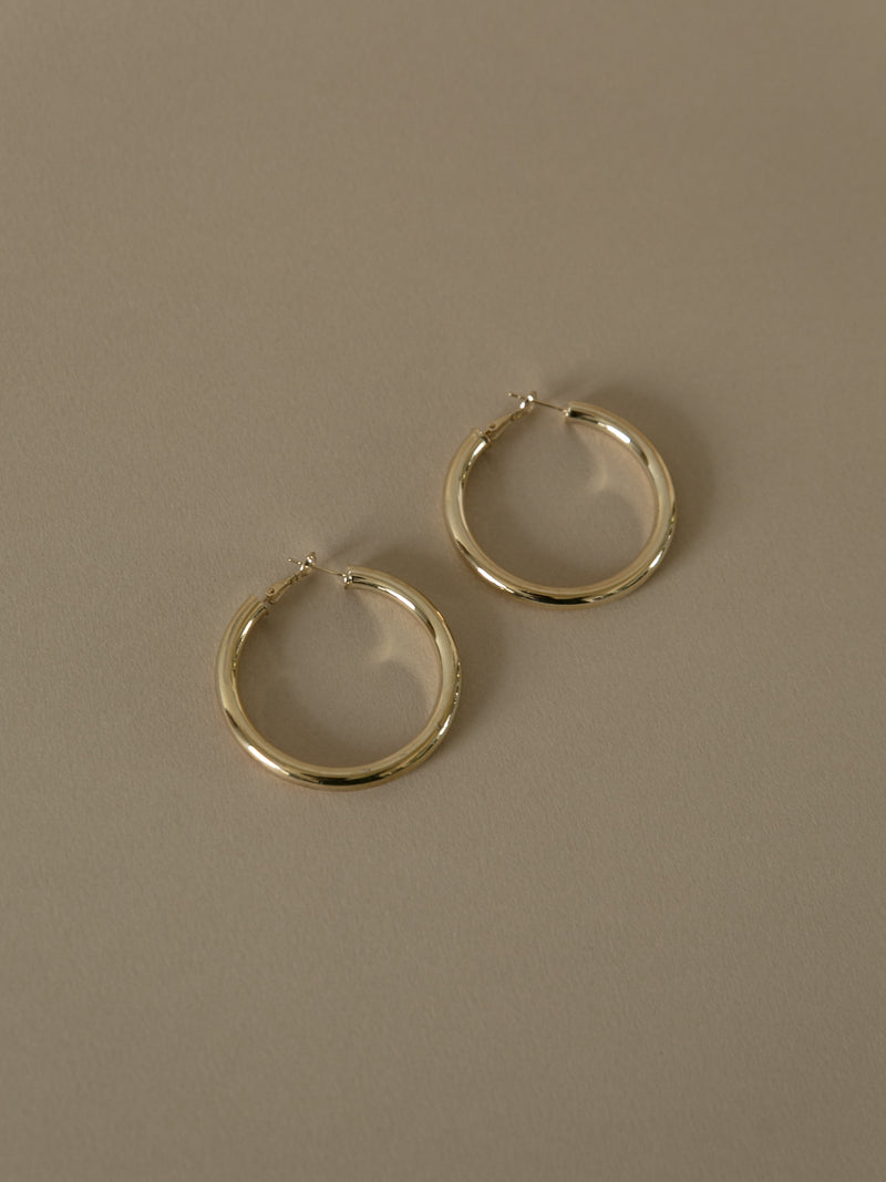 Kaya Gold Hoop Earrings