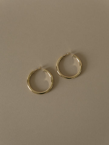 Jules Silver Earrings