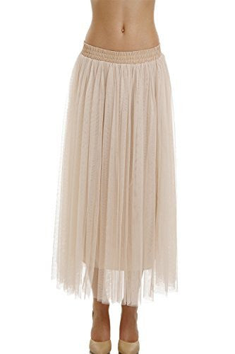 Women Straight bottom Tulle Tutu Dance Skirt - Shop Lev