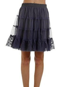 Women Mini tiered A Line Tutu-Tulle Skirt - Shop Lev