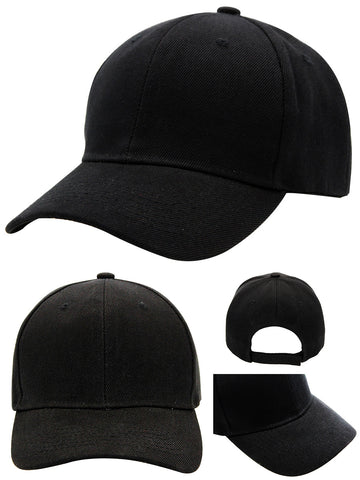 Basic velcro closure cap