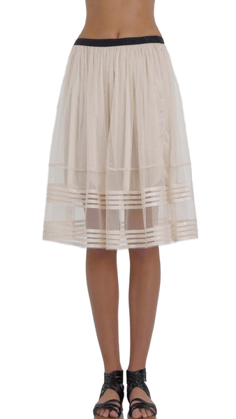 Sparkle Striped Tulle Skirt - Shop Lev
