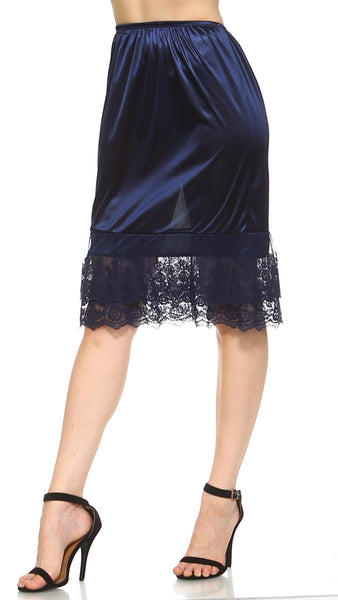 "Melody extra length double lace half slip skirt extender - 24"" length - Shop Lev"