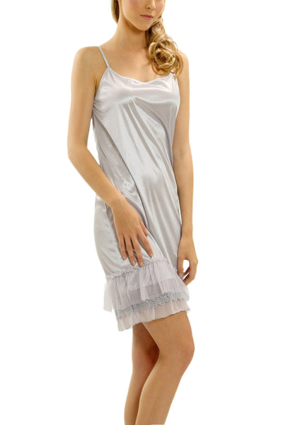 Melody Ruffle Combo Satin Full Slip - Shop Lev