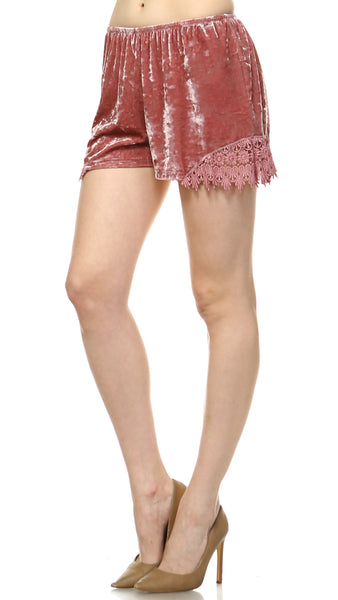 Women's Velvet Tap Short - Shop Lev